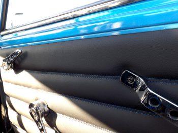 Panneau de porte personnalisé Austin Mini RC Sellerie