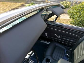 Pare-soleil cuir Ford Mustang RC Sellerie