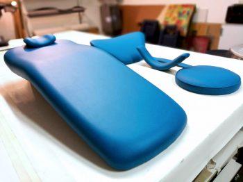 Réfection fauteuil dentaire RC Sellerie