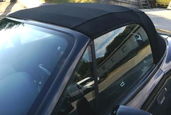 Remplacement de capote BMW Z3 RC Sellerie