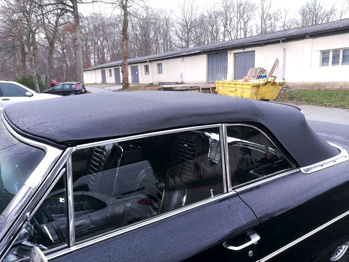 Remplacement capote Ford Galaxie RC Sellerie
