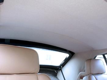 Remplacement du ciel de toit Jaguar XJS Cabriolet