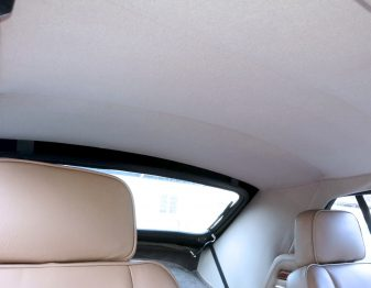 Remplacement du ciel de toit Jaguar XJS Cabriolet RC Sellerie