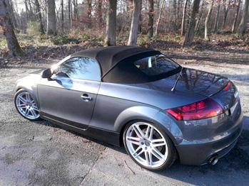 Remplacement capote Audi TT RC Sellerie