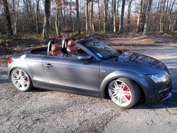 Remplacement capote Audi TT RC Sellerie