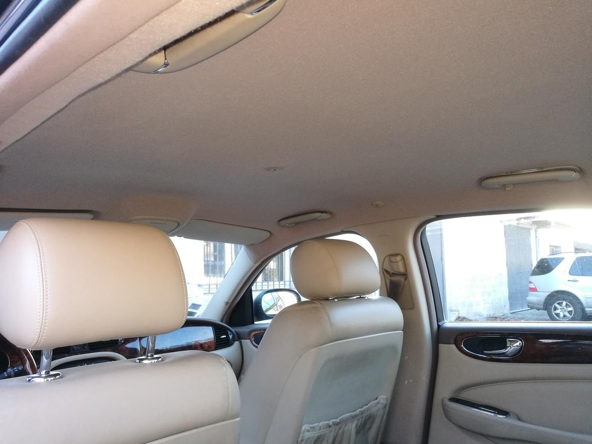 Remplacement ciel de toit Jaguar XJ6