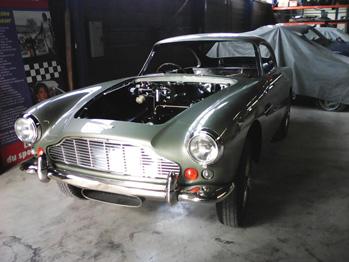 Rénovation Aston Martin DB4 RC Sellerie