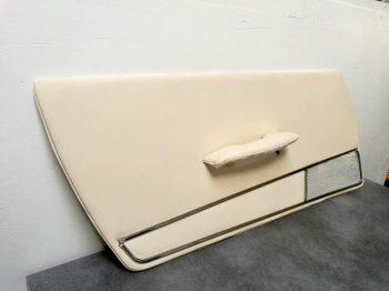 Rénovation panneaux de portes Peugeot 404 RC Sellerie