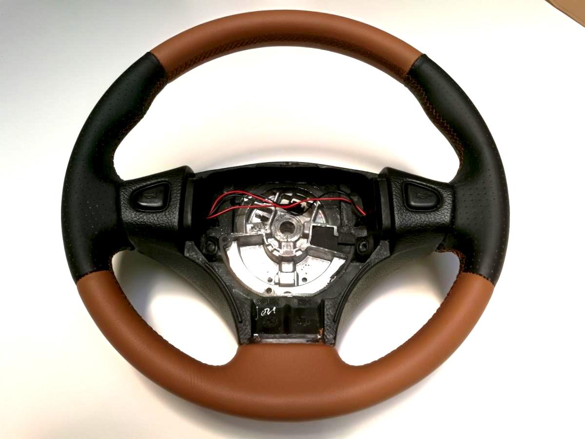 Rénovation volant cuir Austin Mini
