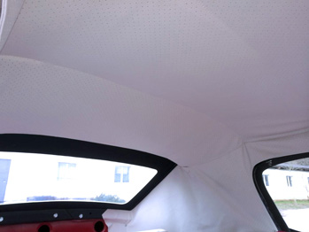 Rénovation capote Karmann Ghia RC Sellerie