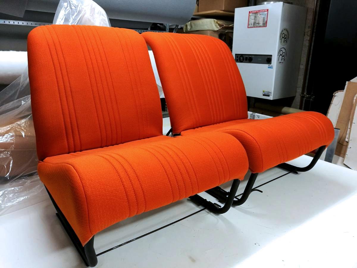 Rénovation sièges Citroën 2 CV Spot