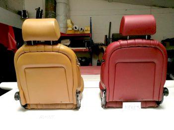 Sellerie cuir 504 Cabriolet Renaissance RC Sellerie