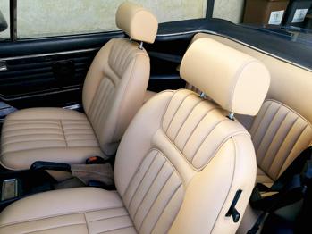 Sellerie cuir 504 Cabriolet RC Sellerie