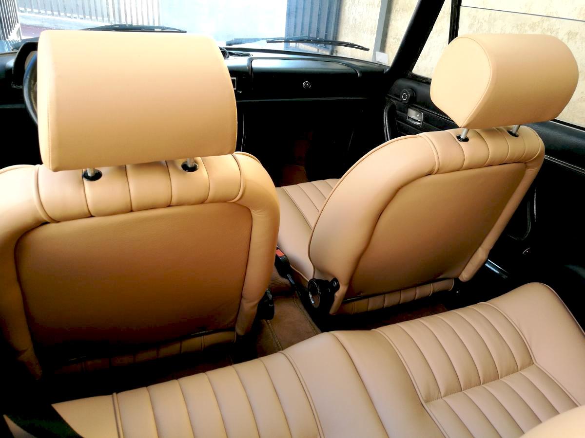 Sellerie cuir 504 Cabriolet
