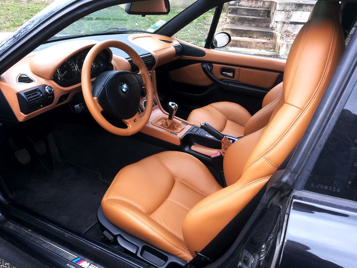Sellerie cuir BMW Z3 rénovée