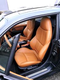 Sellerie cuir BMW Z3 rénovée RC Sellerie