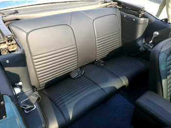 Sellerie cuir rénovée Ford Mustang RC Sellerie