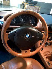 Volant BMW Z3 avant rénovation RC Sellerie