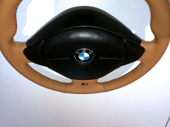 Volant gainé cuir BMW Z3 rénové RC Sellerie