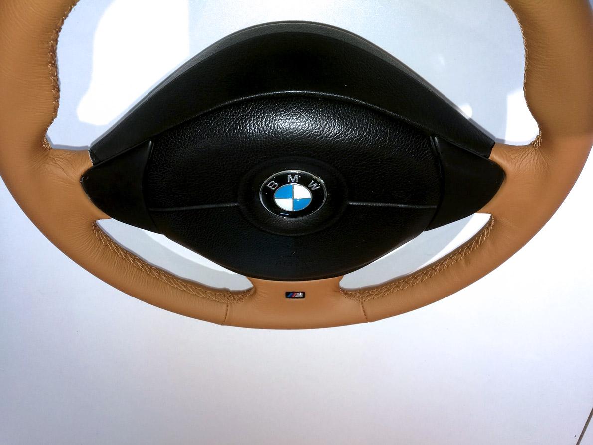 Volant gainé cuir BMW Z3 rénové
