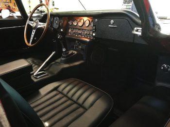 Sellerie cuir Jaguar type E rénovée RC Sellerie
