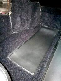 Rénovation des moquettes Jaguar Type E RC Sellerie