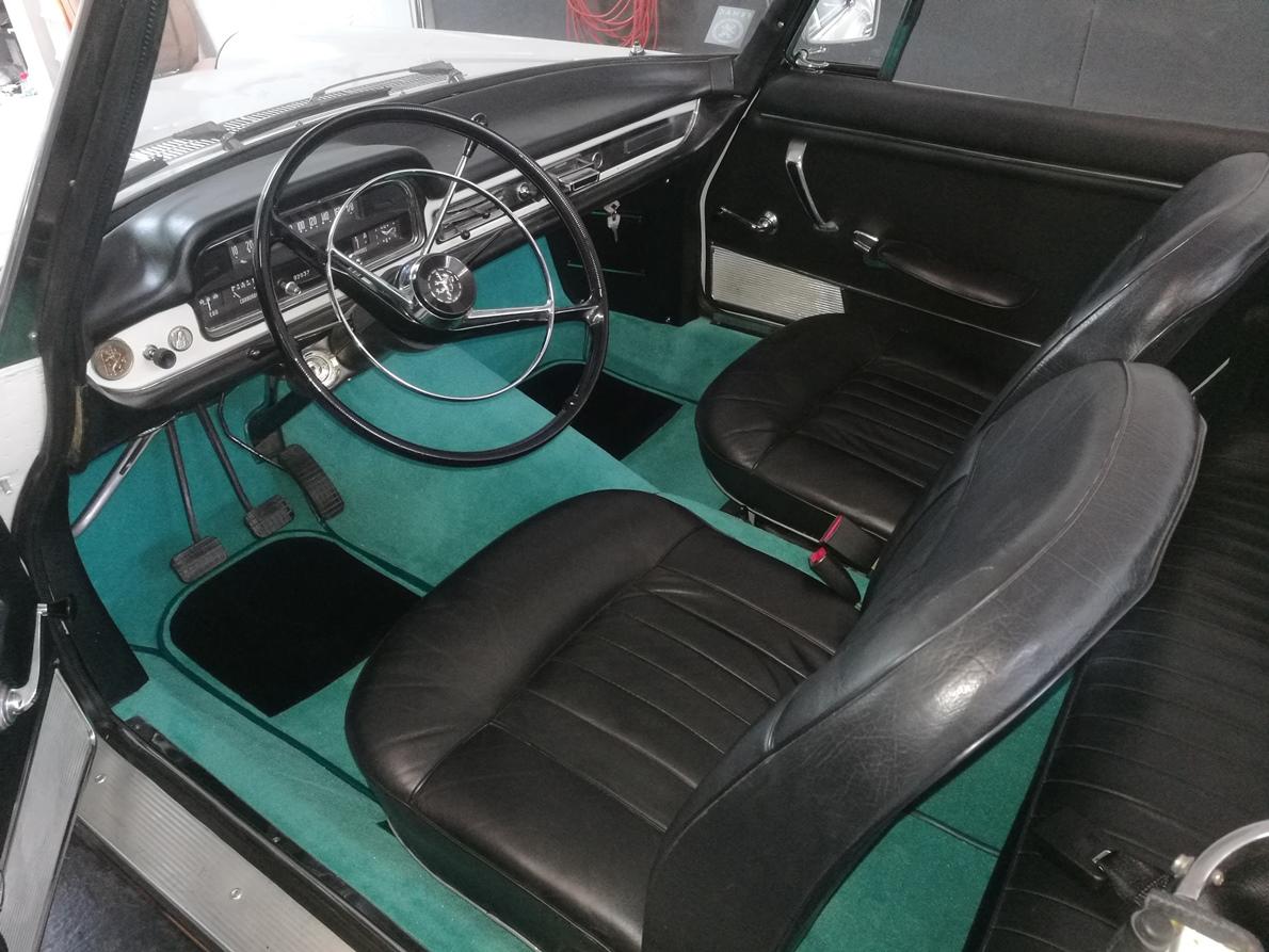 Kit Moquette luxe 404 Coupé Cabriolet
