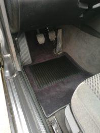 Réalisation tapis moquette luxe Coupé BMW E36 RC Sellerie