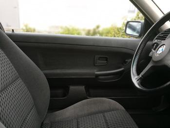 Rénovation gainage panneau porte selon origine BMW E36 coupé