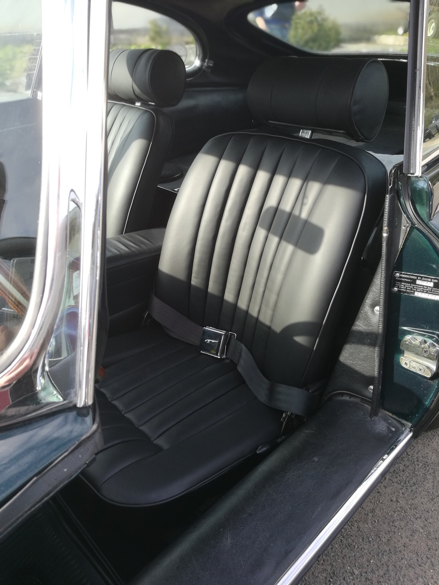 Jaguar Type E Réalisation sellerie cuir