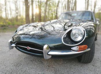 Jaguar Type E Réalisation sellerie cuir RC Sellerie
