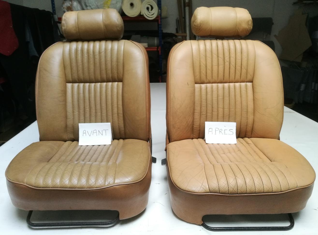 Nettoyage en profondeur du cuir et soins Jaguar XJ12