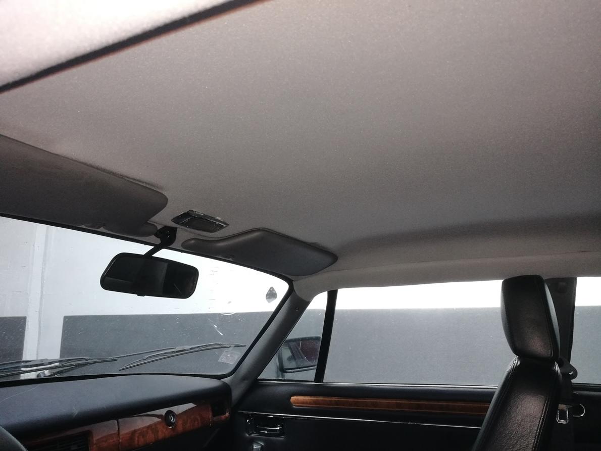 Remplacement ciel de toit coupé XJS