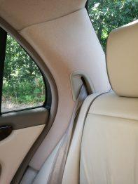 Remplacement tissu montants custodes Jaguar XJ 8 RC Sellerie
