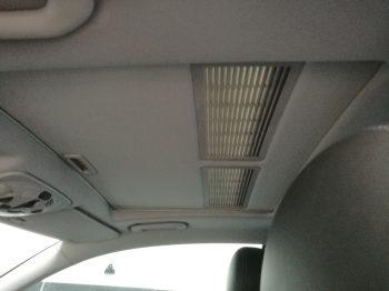 Rénovation ciel de toit coupé Mercedes CLK avec toit ouvrant RC Sellerie