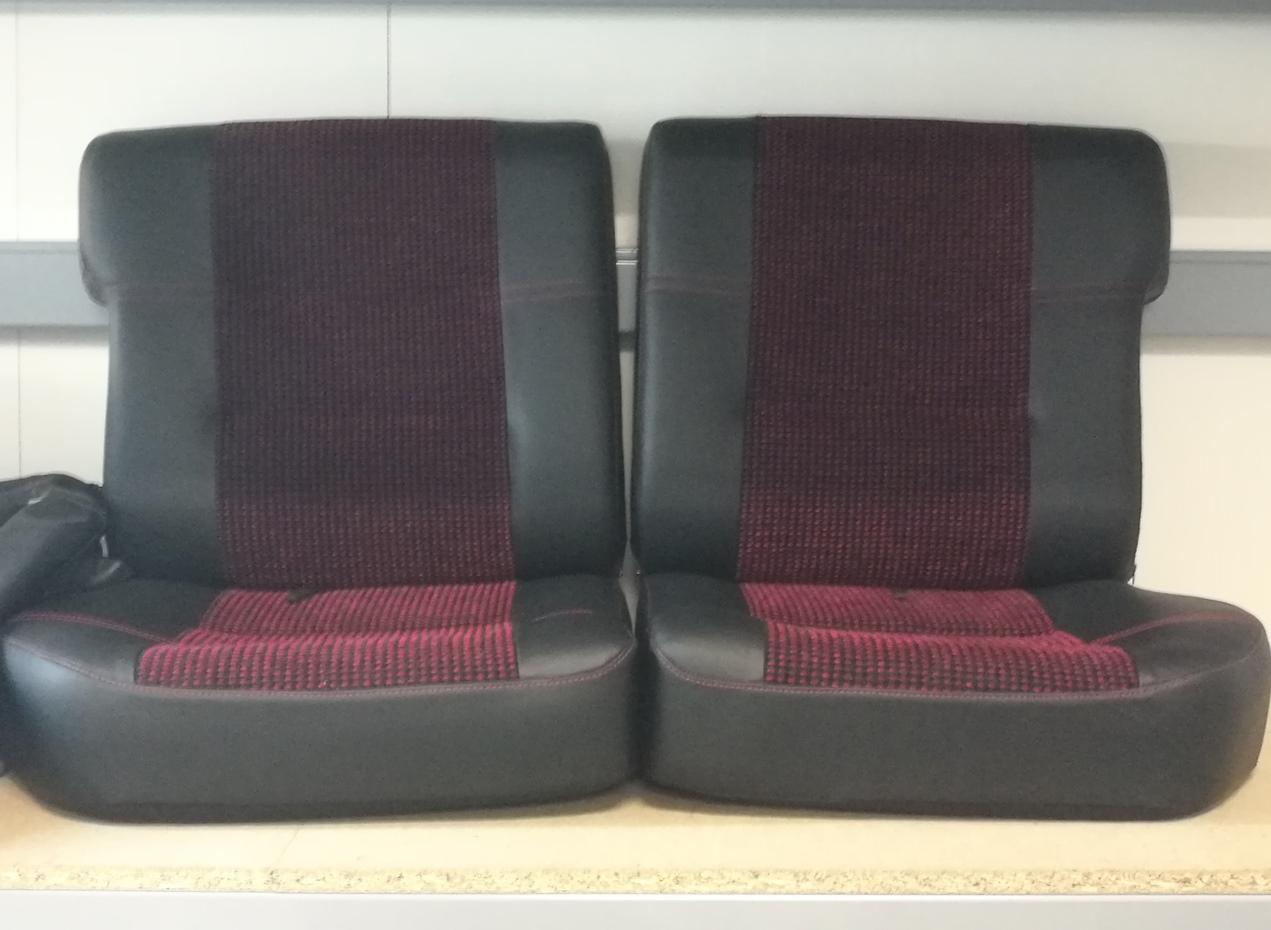 Rénovation siège cuir Quartet 205 GTI