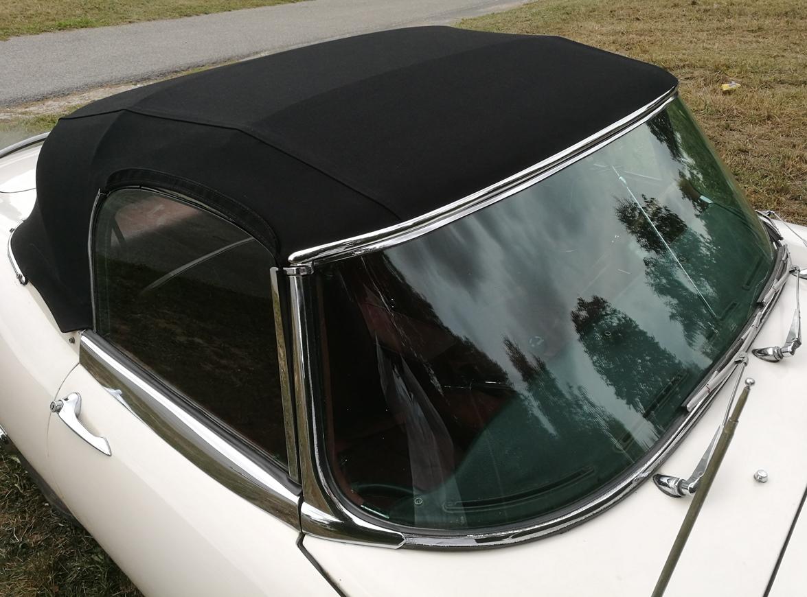 Remplacement capote Jaguar type E
