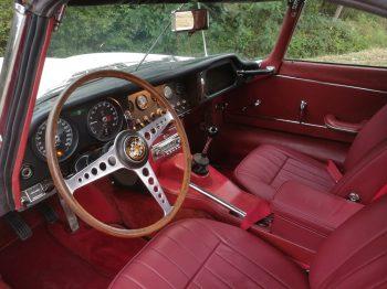 Remplacement capote Jaguar type E RC Sellerie