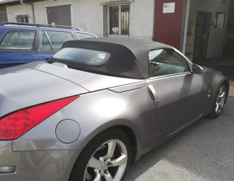 Nissan 350 Z remplacement capote RC Sellerie