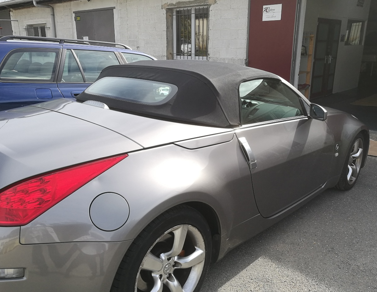 Nissan 350 Z remplacement capote