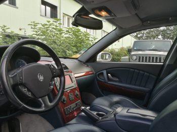 Rénovation ciel de toit Maserati Quattroporte RC Sellerie