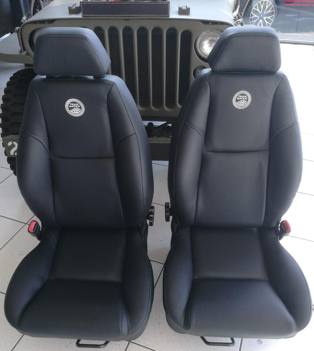 Rénovation siège cuir Jeep Wrangler