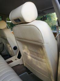 Rénovation sièges cuir magnolia Jaguar XJ40 RC Sellerie