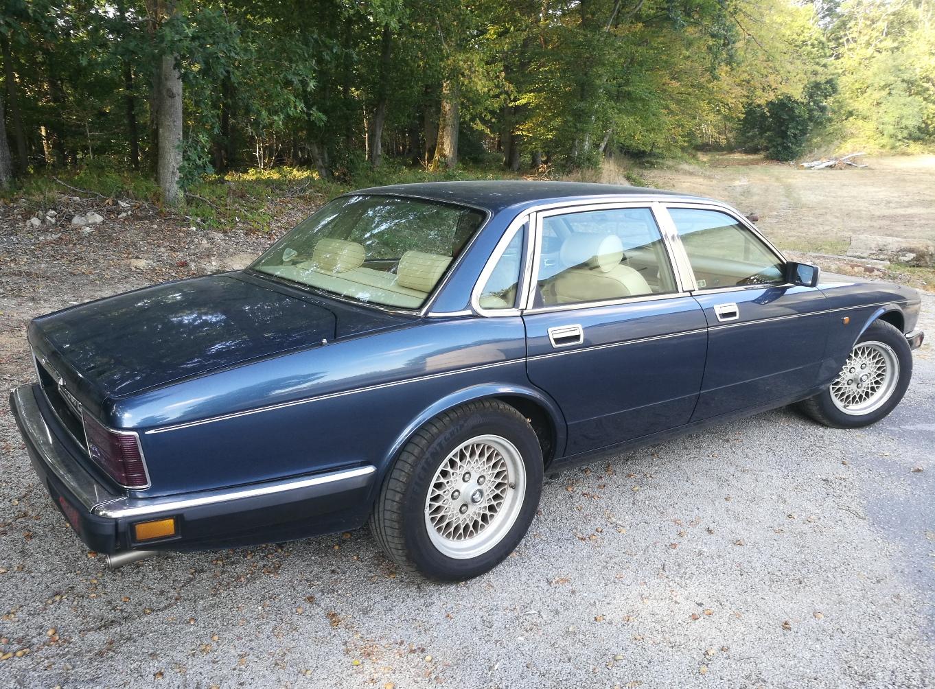 Rénovation sièges cuir Jaguar XJ40