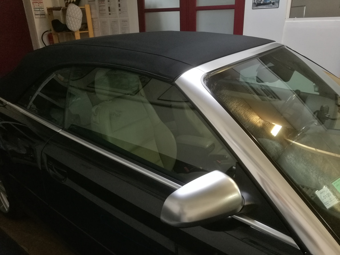 Remplacement capote en Alpaga Audi RS4