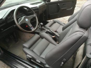 Rénovation sellerie en cuir complète BMW E30 RC Sellerie