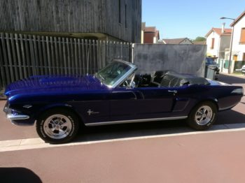 Couvre capote Ford Mustang Cabriolet RC Sellerie