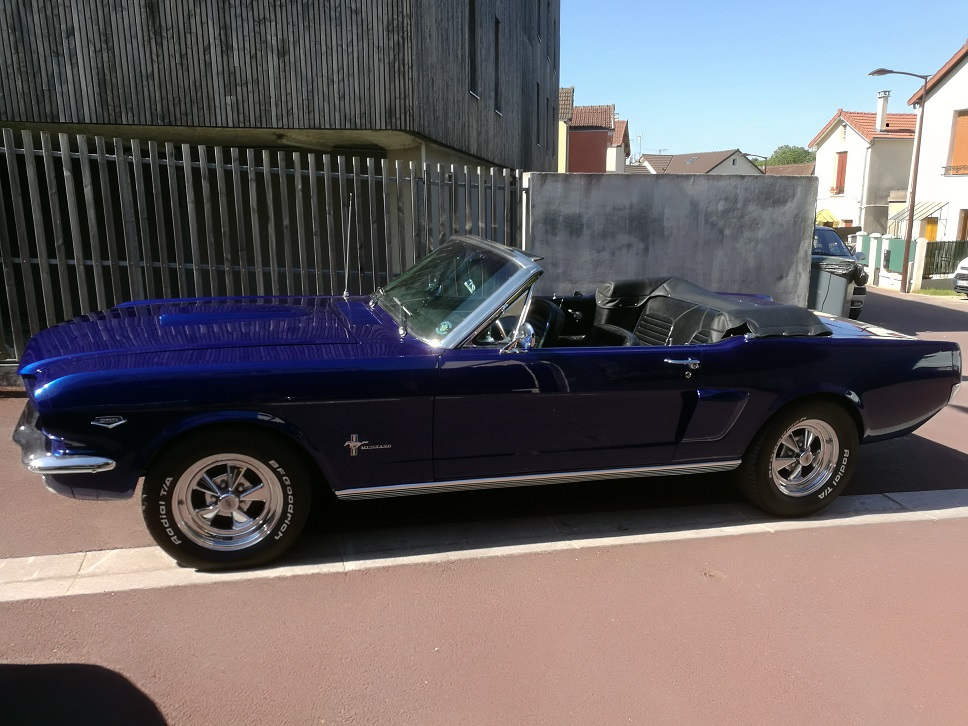 Couvre capote Ford Mustang Cabriolet