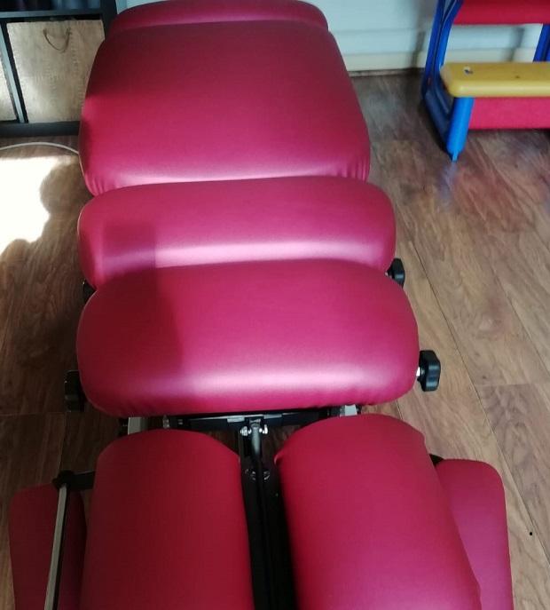 Rénovation table chiropracteur