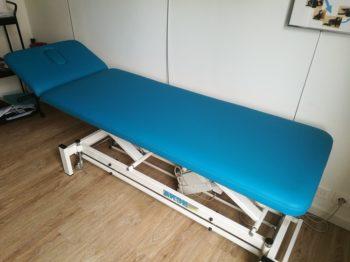 Rénovation table de kinésithérapeute RC Sellerie